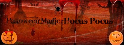 Halloween Magic- Hocus Pocus FB Cover By Me